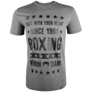 Venum Boxing Origins T-Shirt in Grey