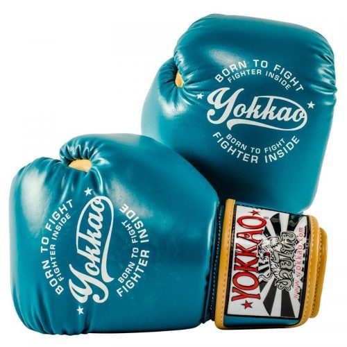 Yokkao Vintage Boxing Gloves Blue