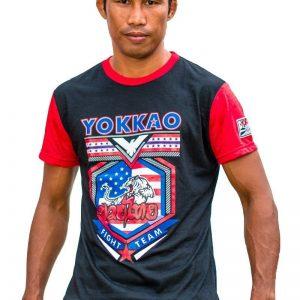 Yokkao Sergeant T-Shirt Black Red