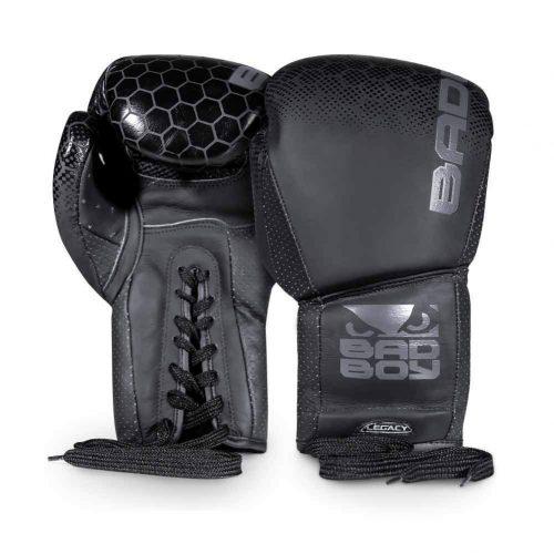 Bad Boy Boxing Gloves Legacy 2.0 Leather Black