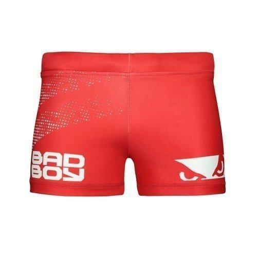 Bad Boy Impact Vale Tudo Compression Shorts Red
