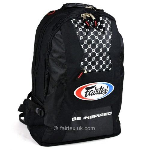 Fairtex Rucksack Gym Bag Black