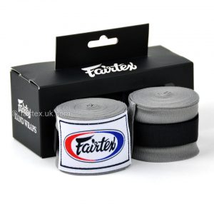 Fairtex Hand Wraps 4.5M Grey HW2 Stretch
