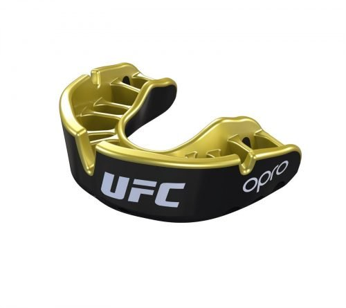 OPRO UFC Licensed Mouth Guard Black Gold