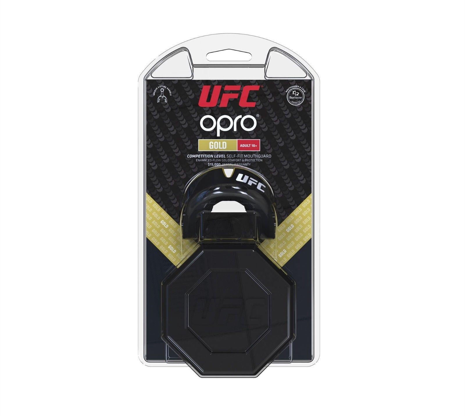 OPRO UFC Licensed Mouth Guard Black Gold | Minotaur Fight Store