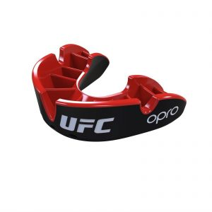 OPRO UFC Licensed Mouth Guard Black Red