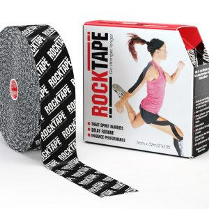 RockTape Kinesiology Tape Black Logo 5cm x 32m