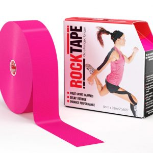 RockTape Kinesiology Tape Hot Pink