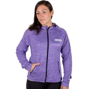 Tatami Ladies Lilac Zip Up Track Jacket