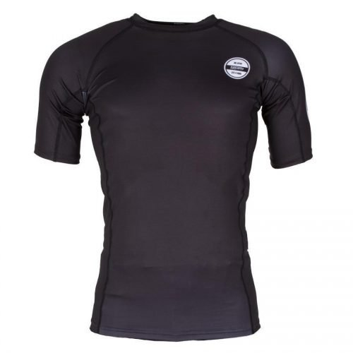 Tatami Classic Short Sleeve Rash Guard in Black