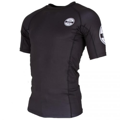Tatami Classic Short Sleeve Rash Guard Black