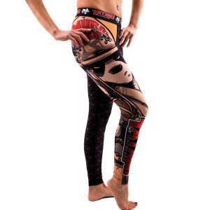 Tatami Ladies Samurai Panda Spats Tights