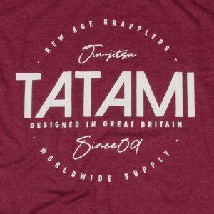 Tatami Worldwide Supply Washed Burgundy T-Shirt