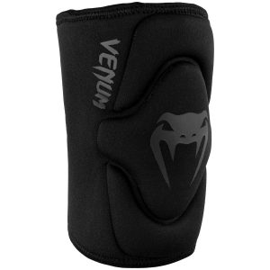 Venum Kontact Gel Knee Pads Black on Black