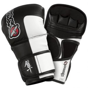 Hayabusa Tokushu 7oz Hybrid Gloves Black White