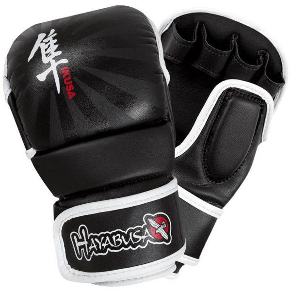 Hayabusa Ikusa 7oz Hybrid Gloves Black
