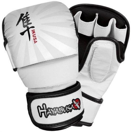 Hayabusa Ikusa 7oz Hybrid Gloves White