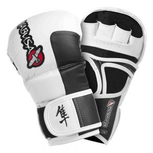 Hayabusa Tokushu 7oz Hybrid Gloves White Black