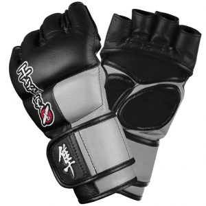 Hayabusa Tokushu 4oz MMA Gloves Black Grey