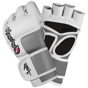 Hayabusa Tokushu 4oz MMA Gloves White Grey