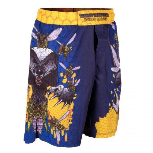 Tatami Honey Badger V5 Shorts Blue