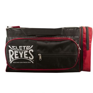 Cleto Reyes Training Holdall Embroidered Logo Black Red