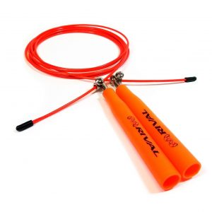 Rival Speed Jump Rope Skipping Rope Fully Adjustable Length Orange