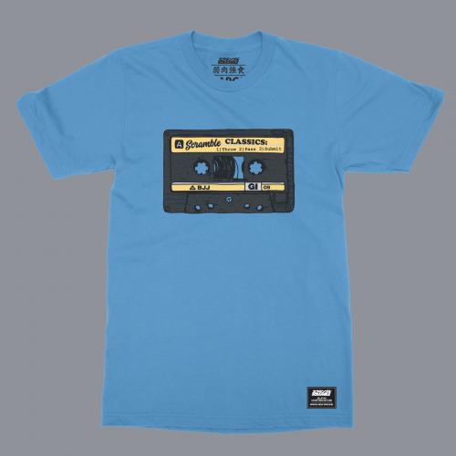 Scramble Old School T-Shirt in Blue
