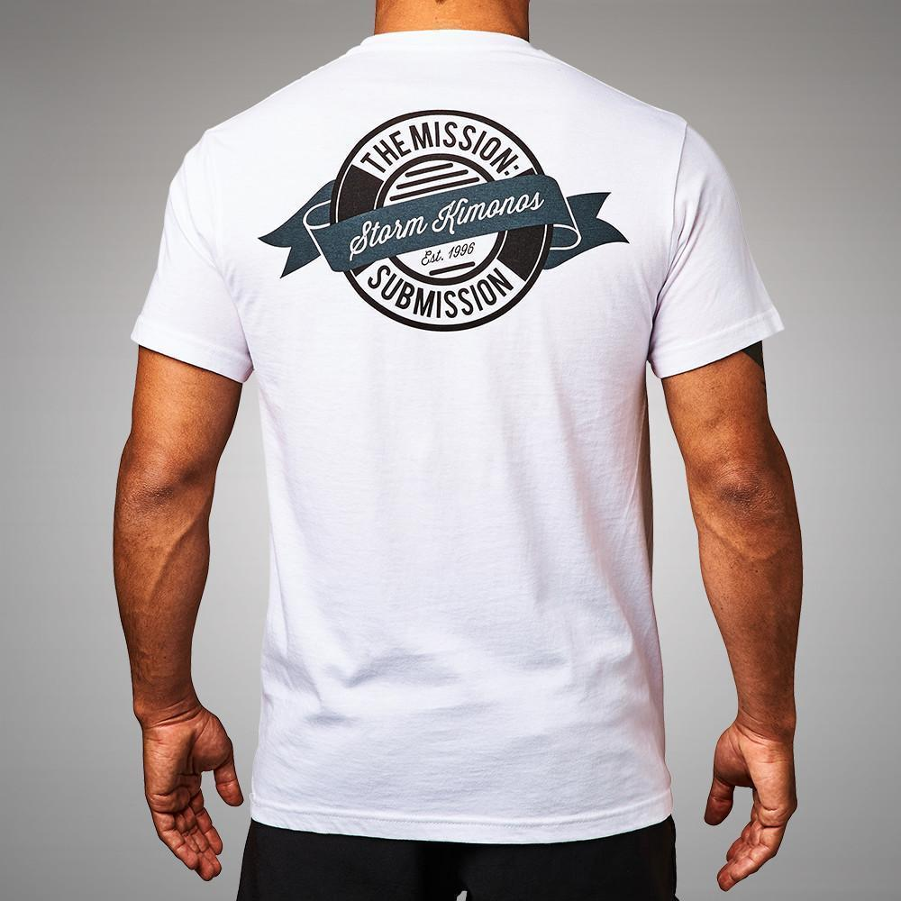 ae86431e Storm Crest T-Shirt White | FREE UK Shipping | Minotaur Fight Store