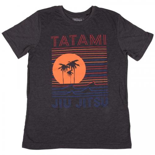 Tatami T-Shirt Sunset Heather Charcoal