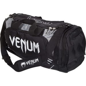 Venum Trainer Lite Sport Bag Black Grey