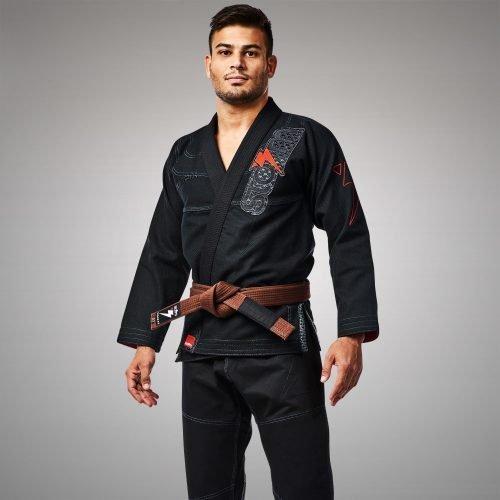 Storm Stealth Matrix BJJ Gi Kimono Black
