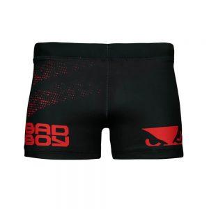Bad Boy Impact Vale Tudo Compression Shorts Black Red