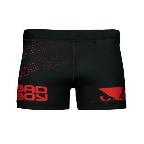 Bad Boy Impact Vale Tudo Compression Shorts Black Red