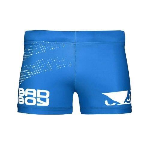 Bad Boy Impact Vale Tudo Compression Shorts Blue White