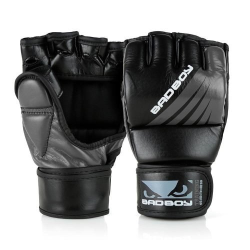 Bad Boy MMA Gloves Training Series Impact Black Grey
