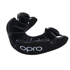 OPRO Mouth Guard Gen4 Bronze Series Self Fit Black