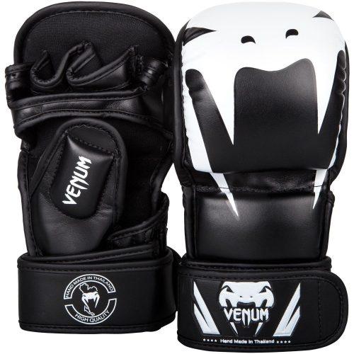 Venum Impact MMA Sparring Gloves Black White