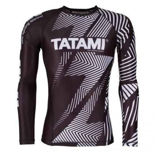 Tatami IBJJF Rash Guard Rank White Long Sleeve