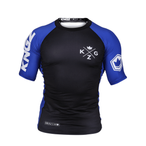 Kingz Ranked V3 Rash Guard Short Sleeve Blue