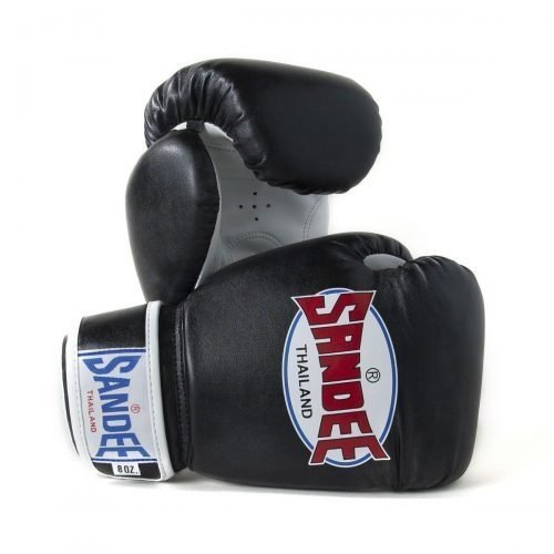 Sandee Kids Authentic Boxing Gloves Black