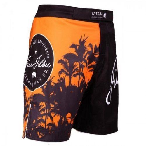 Tatami Cali No-Gi Shorts Black Orange
