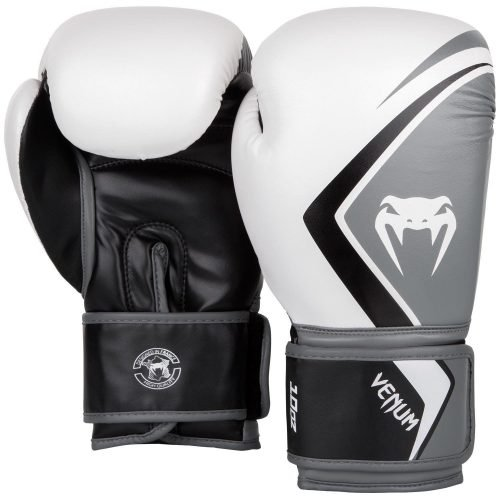 Venum Boxing Gloves Contender 2.0 White Grey Black
