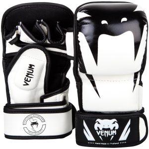 Venum Impact MMA Sparring Gloves White Black