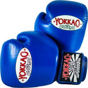 YOKKAO Matrix Boxing Gloves Blue