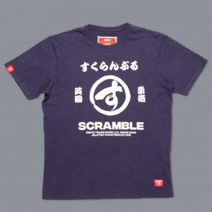Scramble Big Brush T-Shirt Navy
