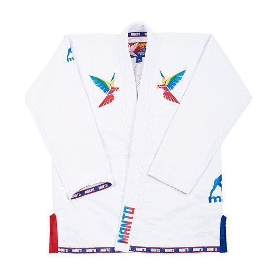 3e7987a17b MANTO PURA VIDA 2.0 BJJ GI White   Minotaur Fight Store