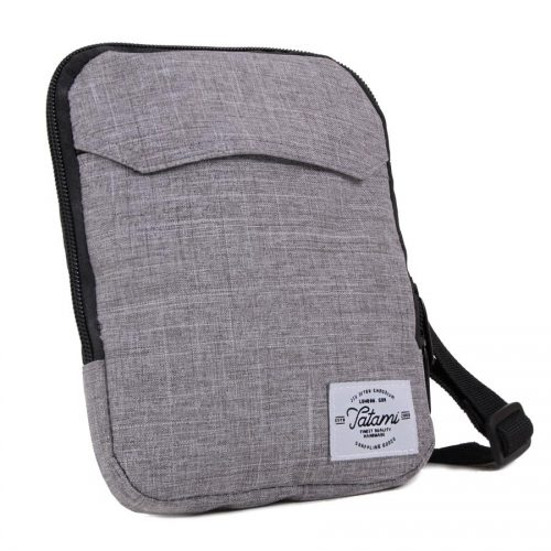 Tatami Grey Messenger Bag