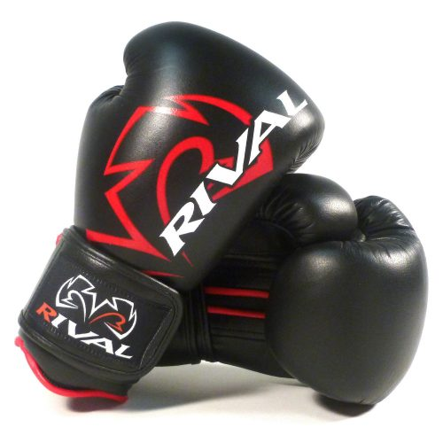 Rival Boxing Gloves RS4 Classic Sparring Gloves Black