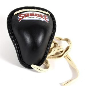 Sandee Black Thai Metal Groin Guard - MMA Groin Guard